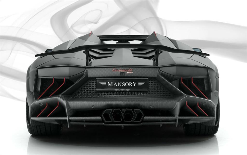 Mansory迈莎锐兰博基尼Aventador定制咨询:15088779054