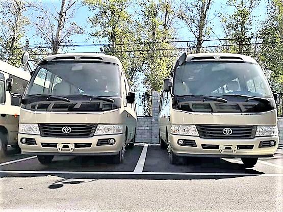 【滚动】14座丰田考斯特图片新款丰田考斯特优惠