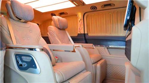 奔驰VS980改装商务车MPV报价及配置  咨询热线:15088779054