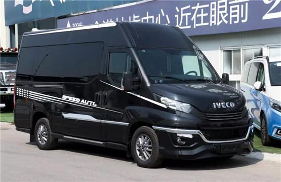 商务车改装 宁波依维柯商务车改装7座后舱图片价格