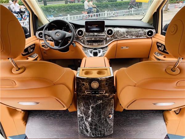 杭州奔驰v260L6座豪华商务车报价及图片 联系方式:15088779054