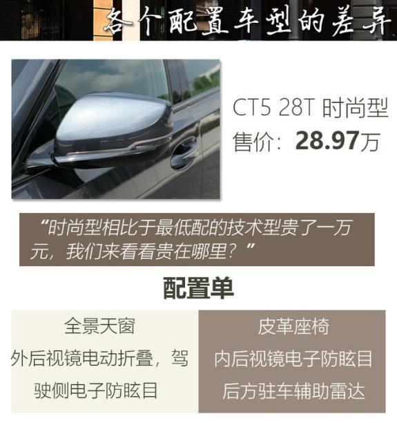 颠覆你对美式的认知凯迪拉克CT5买哪款合适-图8