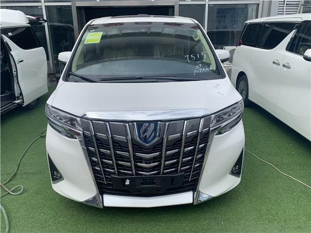新款丰田埃尔法最新销售行情 实车解析