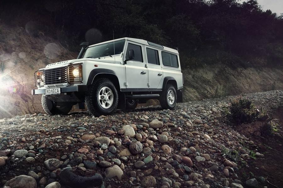 全新一代路虎卫士预计9月发布,在此之前先体验路虎全地形驾探营