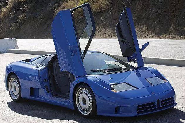 布加迪发布EB110特别版车型 限量10台售价800万欧元