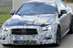2021款梅赛德斯-AMG E53 Coupe谍照曝光 采用新灯组