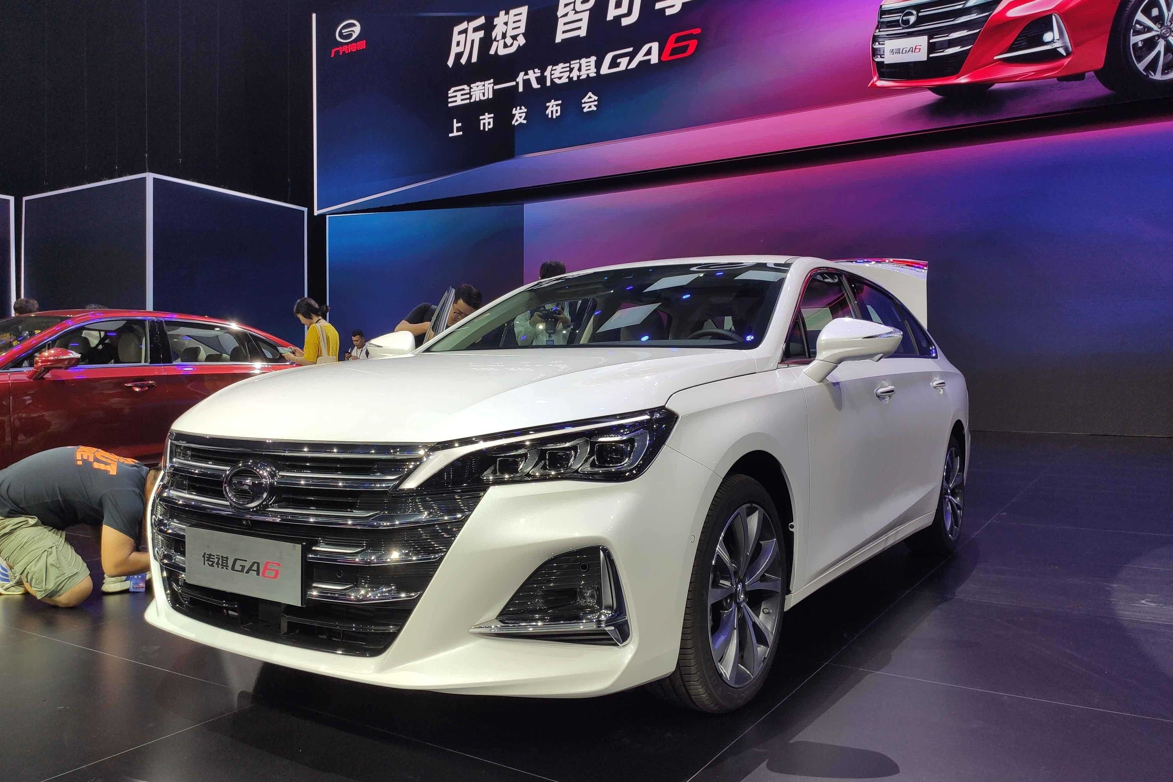 中级车市场一匹黑马——全新一代广汽传祺GA6正式上市