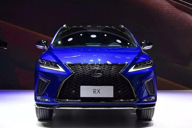 新款雷克萨斯RX,成都车展上市,预售价39.90万起