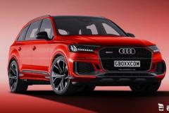 搭载双涡轮增压V8发动机 奥迪全新RS Q7渲染图