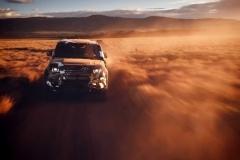 路虎发布全新卫士官方预热图 法兰克福车展首发
