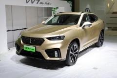 WEY VV7 GT PHEV实车曝光 成都车展发布
