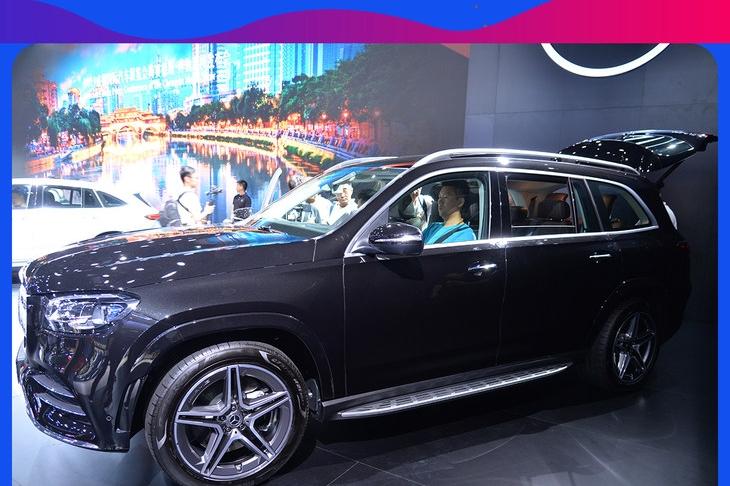 宝马X7劲敌 产品力再提升 2019成都车展实拍全新一代奔驰GLS