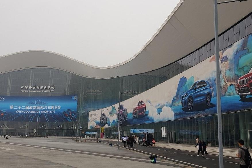 """2019成都车展   这届车展被""""绿""""的不轻啊"""