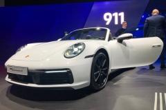 2019法兰克福车展:保时捷911 Carrera 4系列发布