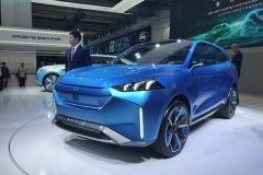 WEY-S概念车首发 造型超前卫/内饰极赋科技感