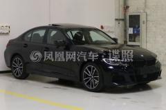 宝马3系新增车型申报图 新增涂装颜色/3种动力配置