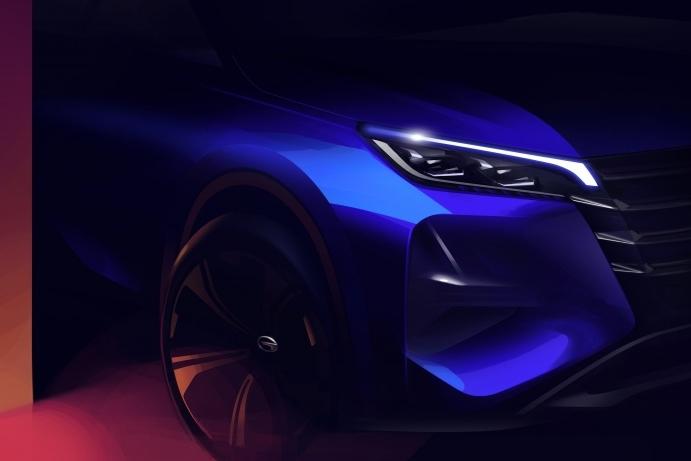 广汽传祺全新GS4渲染图曝光!还将推出轿跑版?
