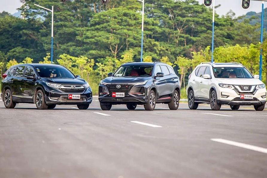 【实测】中、日大PK!三款SUV同台竞技,最后赢家是TA