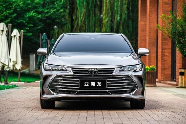 丰田亚洲龙2.0L车型正式上市,售价19.98万起,凯美瑞又稳了?