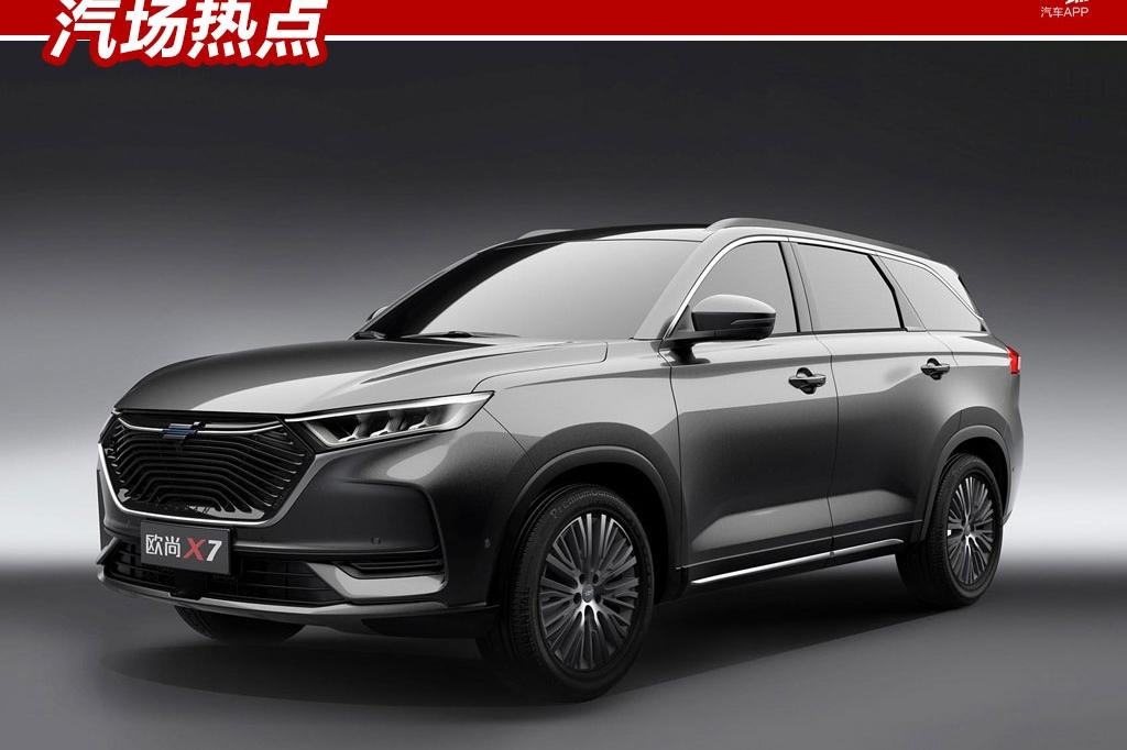 预售11万元起,长安欧尚X7配置曝光,竞争宝骏RS-5/哈弗F7x