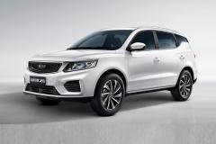 吉利全新远景X6官图曝光 定位7万级紧凑型SUV