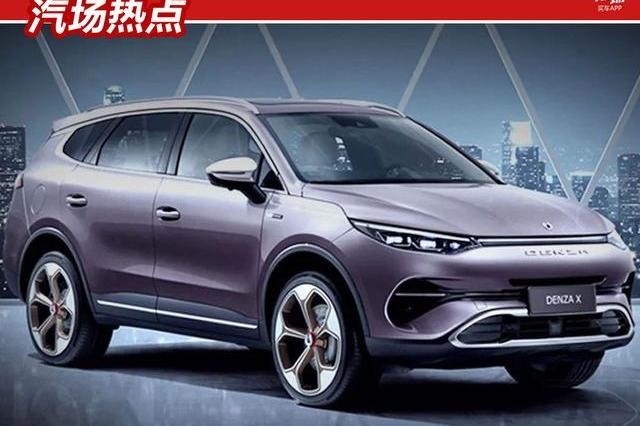 比唐EV更大,腾势7座SUV广州车展上市,百公里加速5秒以内