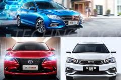 8万买国产家轿,荣威i5、长安逸动、吉利新帝豪,这么选就对了!