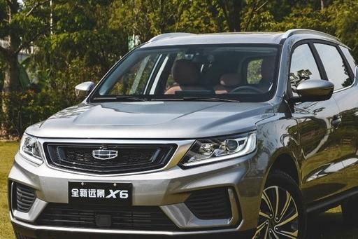 吉利远景X6回归,真能争夺7万级SUV市场C位?
