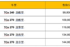 东风雷诺科雷缤正式上市 售9.98-14.48万元 搭1.3T发动机