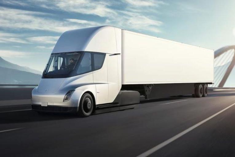 既Semi之后,特斯拉另一款未来卡车渲染图曝光