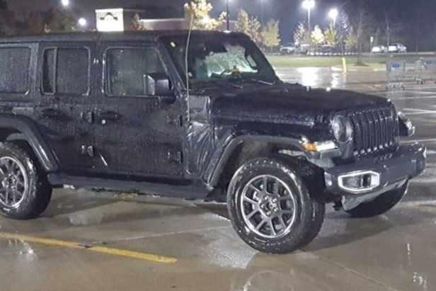Jeep牧马人插电混动版谍照  与燃油版车型保持一致 有望洛杉矶车展亮相
