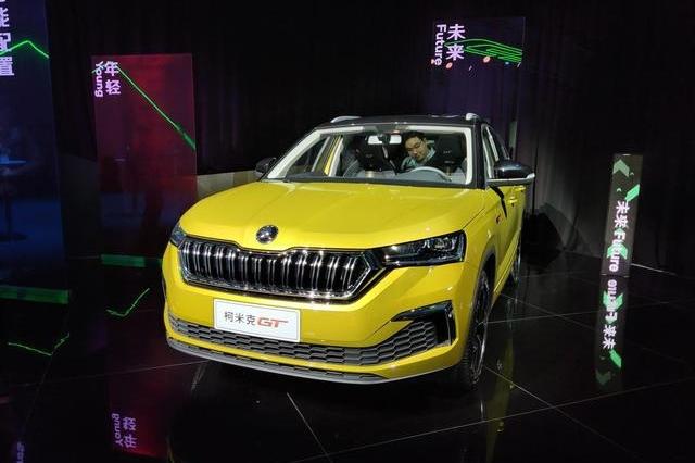 柯米克GT首秀现场,更运动的造型,新增高尔夫同款1.2T发动机