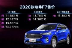 占据全球AI智能至高点 2020款哈弗F7重塑全球SUV市场格局