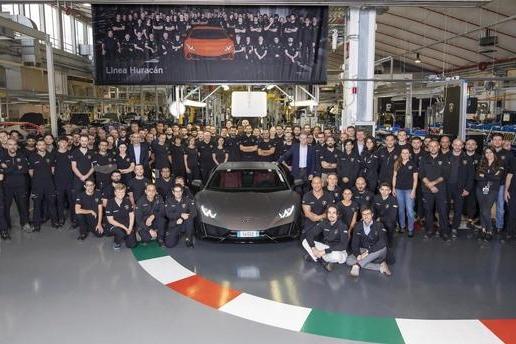 兰博基尼Huracan产量达14022辆,但最火的产品却不是它