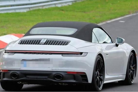 保时捷911 GTS敞篷版亮相,最大马力或达460匹