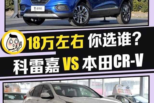 体验法系浪漫还是追求实用 科雷嘉 VS 本田CR-V