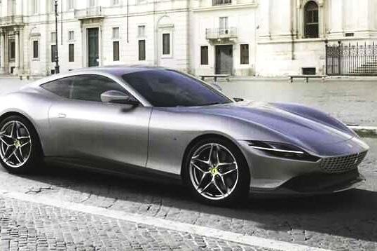 颜值不输阿斯顿马丁,价格与奔驰跑车相当,优雅的法拉利Roma