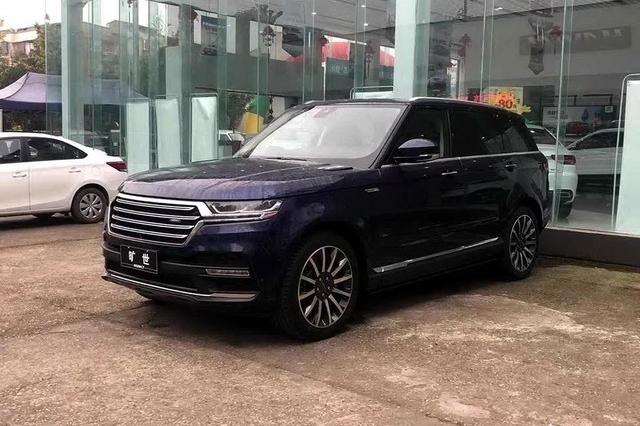 """复刻""""路虎揽胜运动版"""" 汉龙首款SUV旷世已到店"""