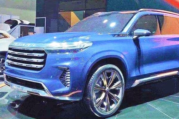 星途VX概念车探馆前瞻:定位中大型,明年上市