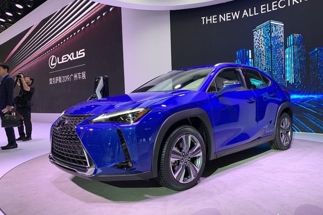 2019广州车展丨雷克萨斯UX 300e全球首发