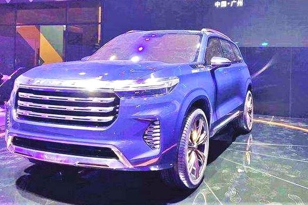 中大型SUV星途VX概念车完成亮相,量产版新车预计明年正式上市