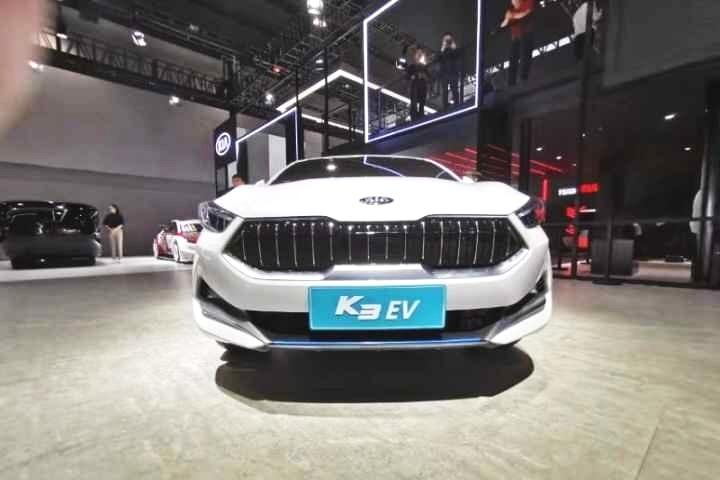 【2019广州车展】起亚K3 EV纯电动版本亮相车展
