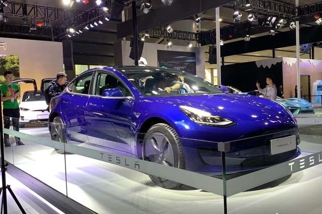 2019广州车展丨国产特斯拉Model 3亮相