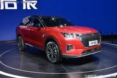 2019广州车展:启辰全新SUV 星 正式发布
