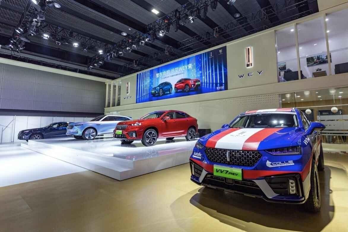 除了新车全球上市,长城汽车还在广州车展展示了这些硬实力