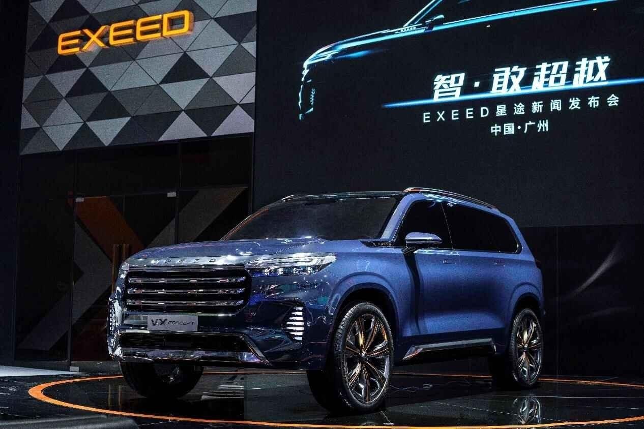 一年布局3款全新车型,EXEED星途SUV家族全矩阵亮相广州车展
