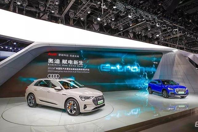 2019广州车展|奥迪携e-tron/Q2L e-tron两款电动车亮相