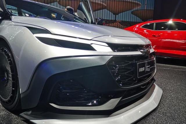 广州车展:1.3T+剪刀门,雪佛兰新车或成A级车市场的焦点