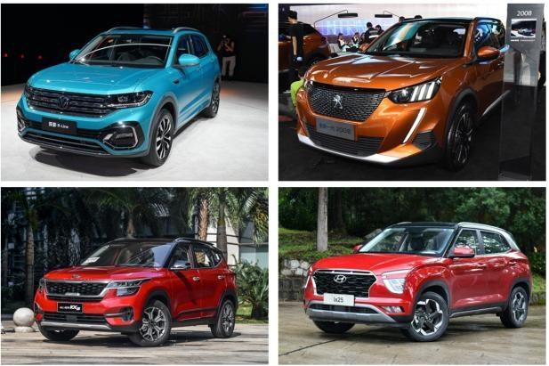 广州车展,售价不高且实力不俗的合资小型SUV推荐