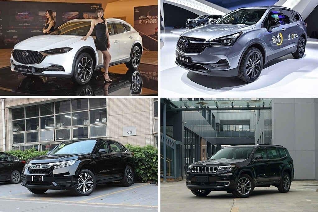 四款合资特供SUV值得看,其中一款百万销量,品质豪华舒适都有